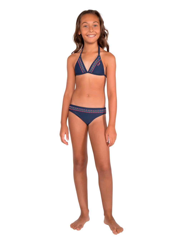 Protest triangel bikini Rifka JR donkerblauw, Donkerblauw