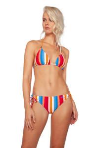 Protest gestreepte triangel bikini Citron blauw/rood/wit, Blauw/rood/wit