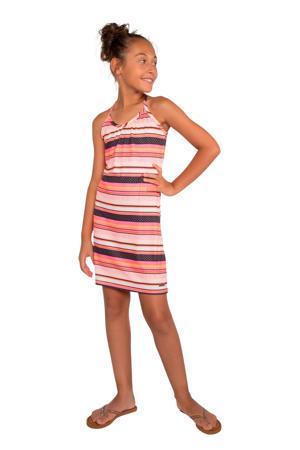 gestreepte jersey jurk Revolve 20 JR roze