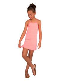 Protest jersey jurk Sylvia JR met contrastbies roze, Roze
