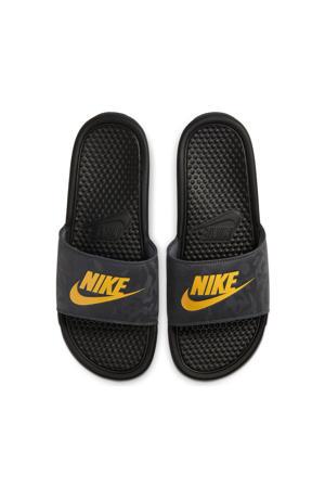 Benassi JDI  slippers zwart/geel