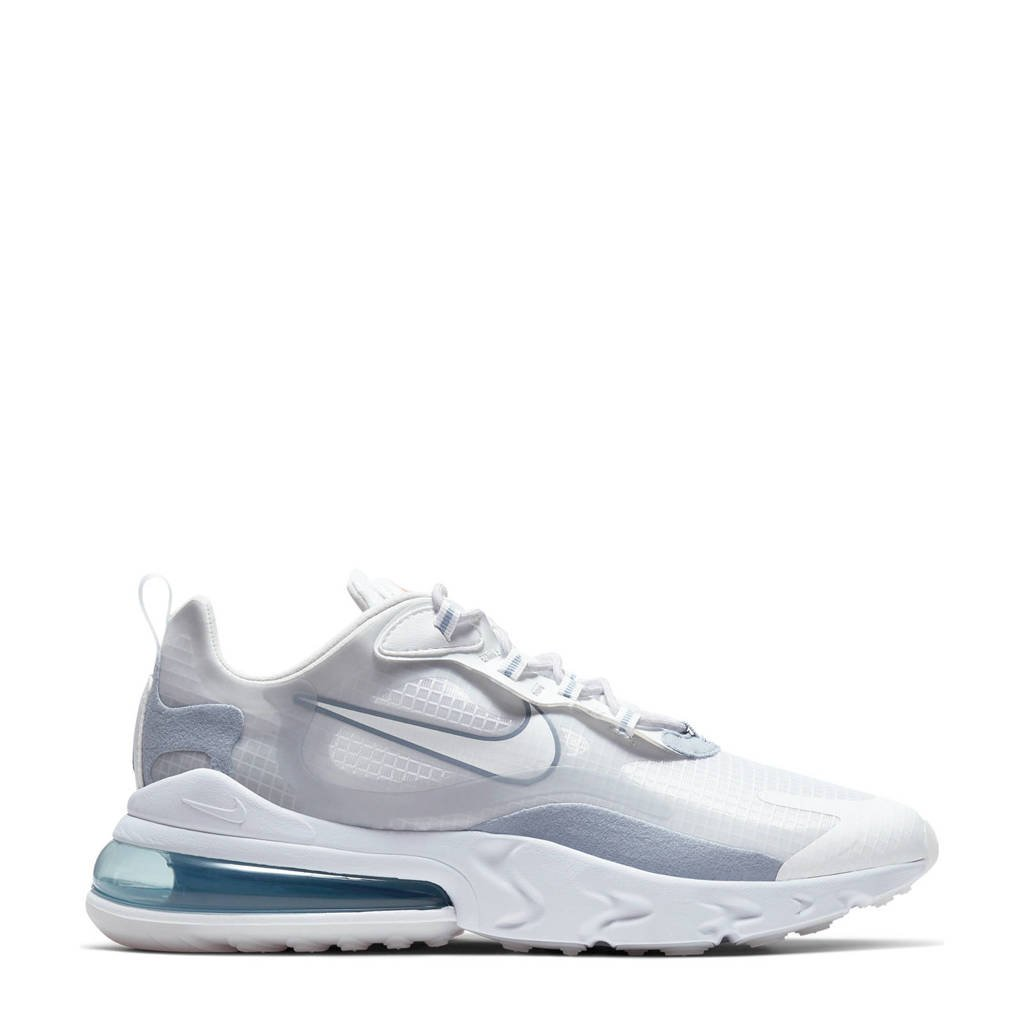 Nike Air Max 270 React sneakers wit/zilver, Wit/zilver