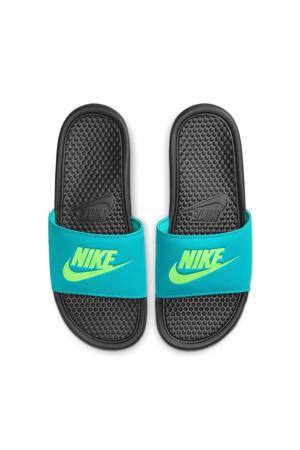 Benassi JDI  slippers groen/zwart