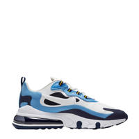 Nike Air Max 270 React sneakers wit/donkerblauw, Wit/donkerblauw