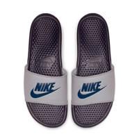 Nike Benassi JDI  slippers grijs/blauw, Grijs/blauw