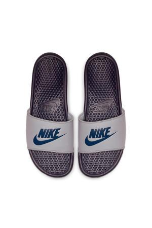 Benassi JDI  slippers grijs/blauw