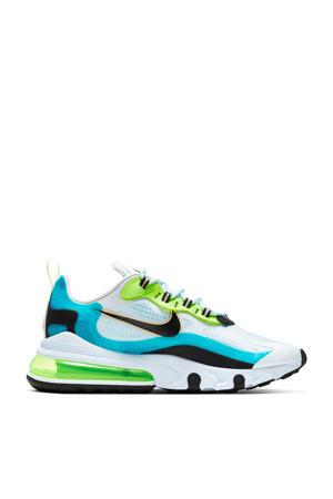 Air Max 270 React sneakers aqua/zwart/groen