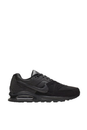Air Max Command Leather sneakers zwart/antraciet