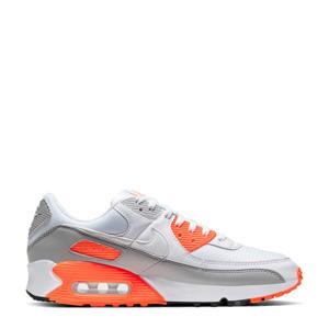 Air Max 90 sneakers wit/grijs/oranje