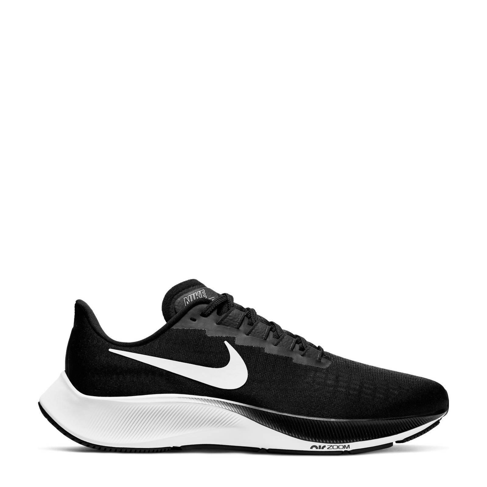Nike Air Zoom Pegasus 37 Hardloopschoenen Heren Black/White Heren online kopen
