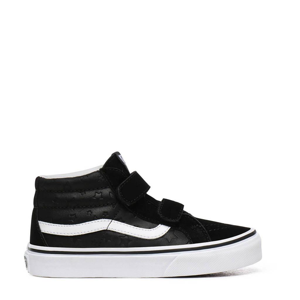VANS SK8-Mid Reissue V  suède sneakers zwart, Zwart