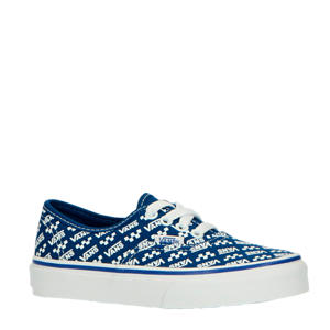 Authentic  sneakers kobaltblauw/wit