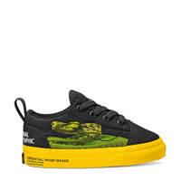 VANS X National Geographic Old Skool Elastic National Geographic sneakers zwart/geel, Zwart/geel