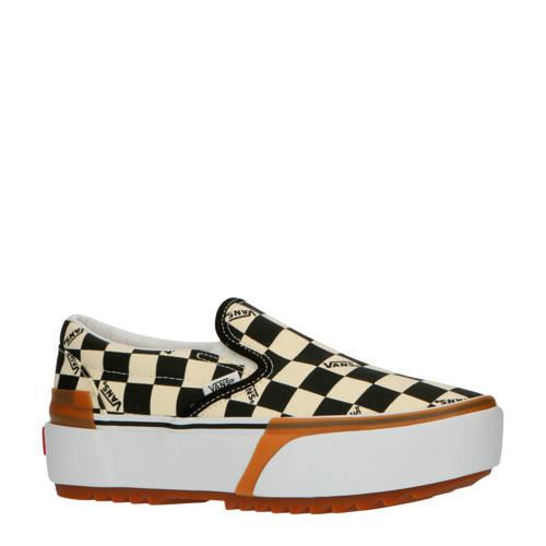 VANS Classic Slip-On Stacked plateau sneakers ecru