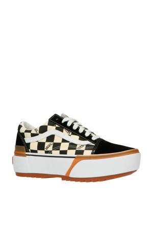 Old Skool Stacked  stacked sneakers ecru/wit