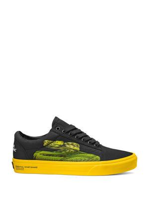 X National Geographic Old Skool  sneakers zwart/geel