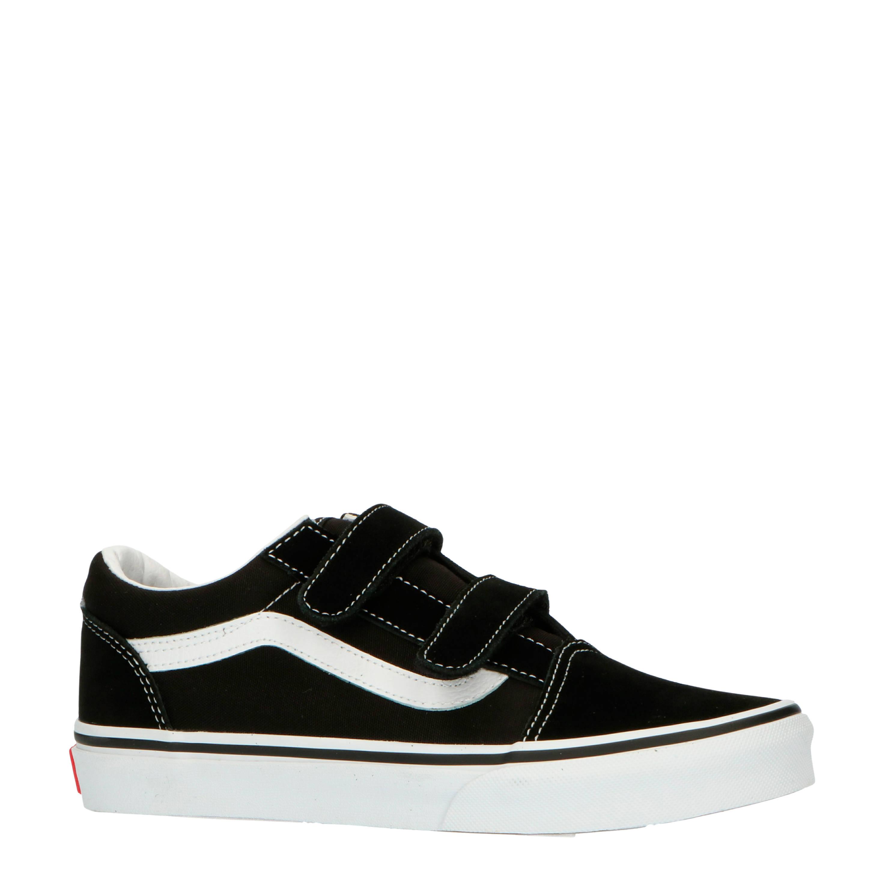 VANS Old Skool V sneakers zwart/wit | wehkamp