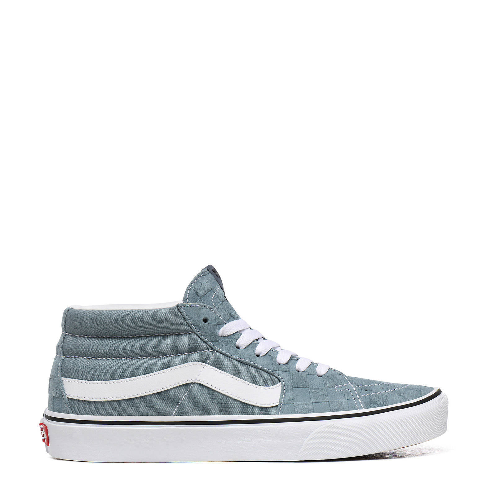 VANS SK8-Mid sneakers grijs/wit | wehkamp
