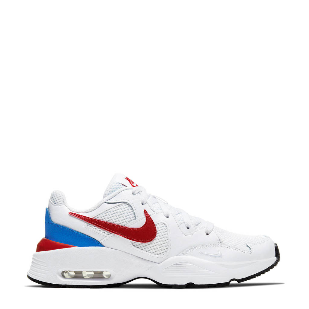 Nike Air Max Fusion  sneakers wit/rood/blauw, Wit/rood/blauw