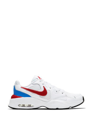 Air Max Fusion  sneakers wit/rood/blauw