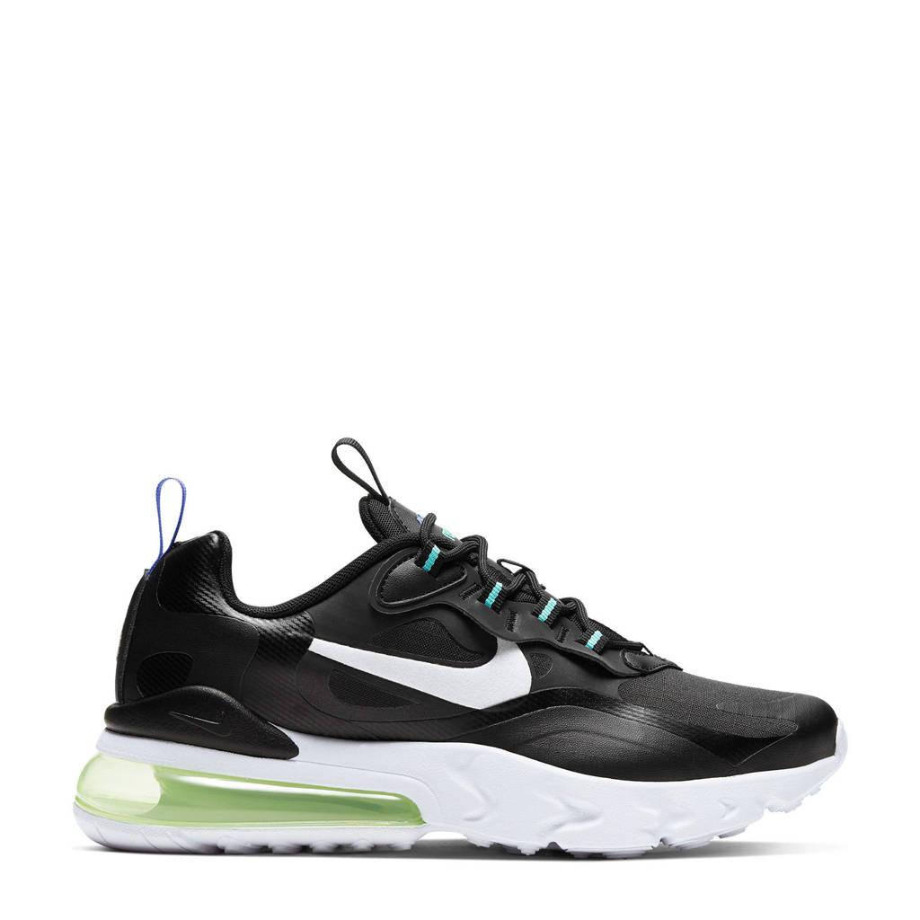 Nike Air Max 270 React GS  sneakers zwart/wit, Zwart