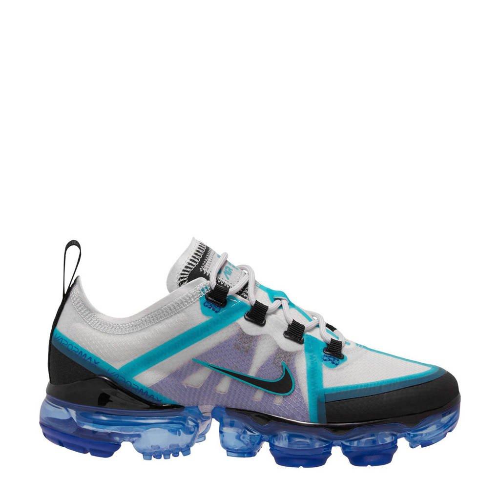 Nike Air VaporMax 2019  sneakers lichtgrijs/blauw/zwart, Lichtgrijs/blauw/zwart