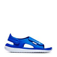 Nike Sunray Adjust 5 (GS/PS) waterschoenen blauw kids, Blauw