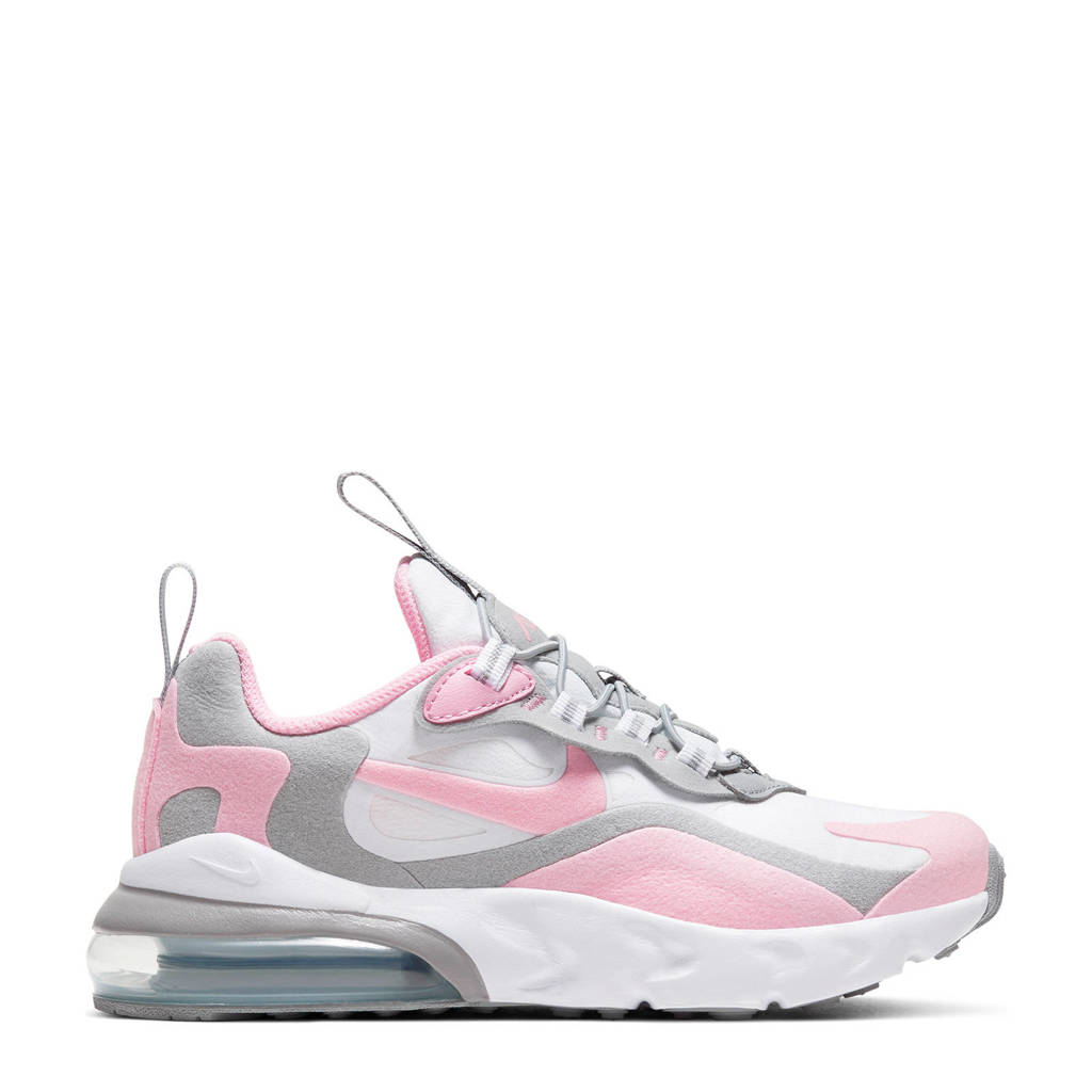 Nike Air Max 270 RT (PS) sneakers wit/grijs/roze