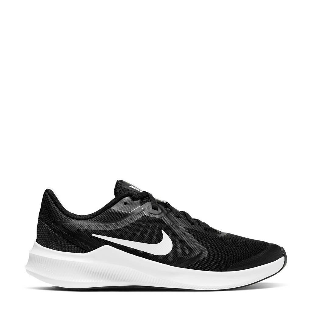 Nike Downshifter 10 (GS) sneakers zwart/wit, Zwart/wit