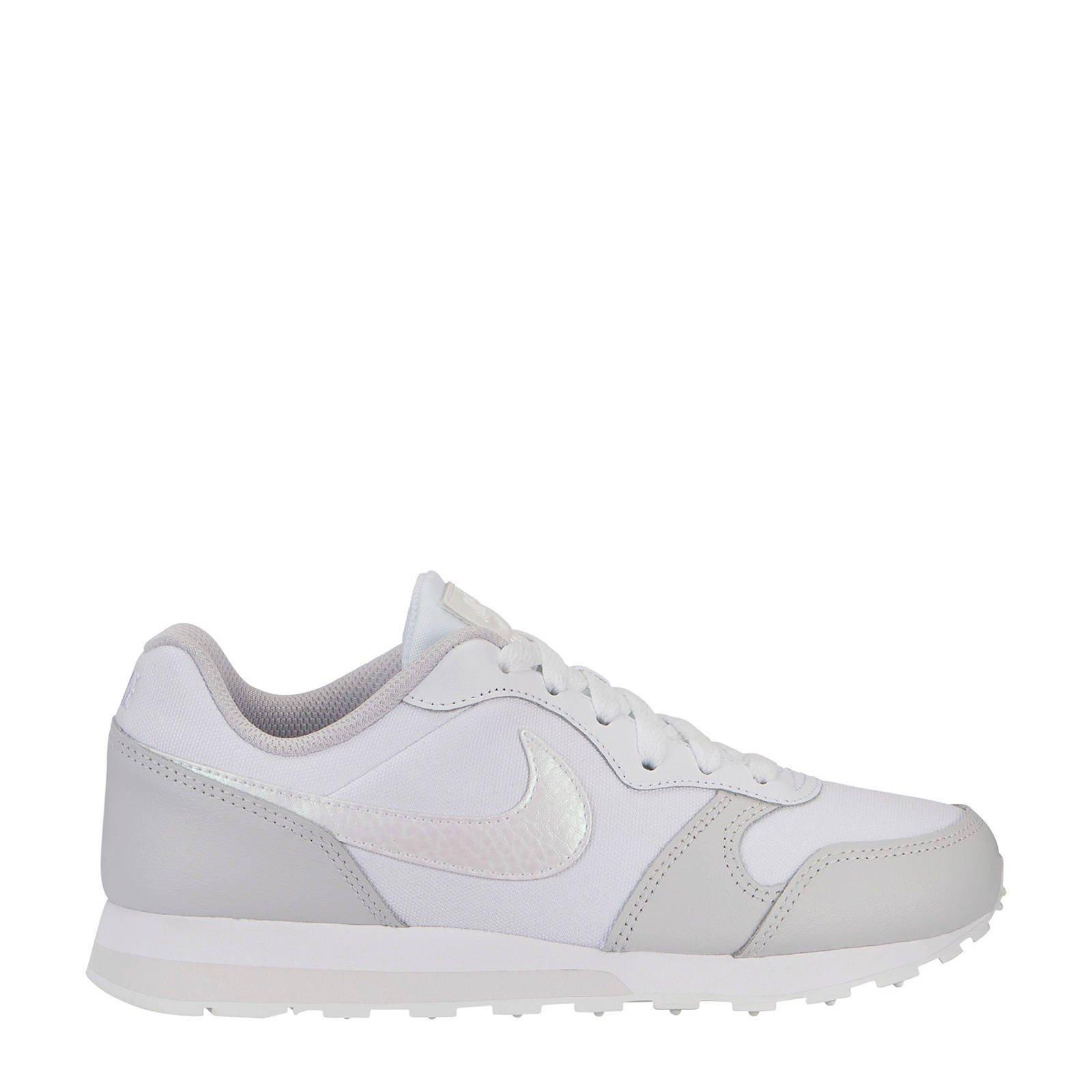 MD Runner 2 sneakers wit/lichtgrijs