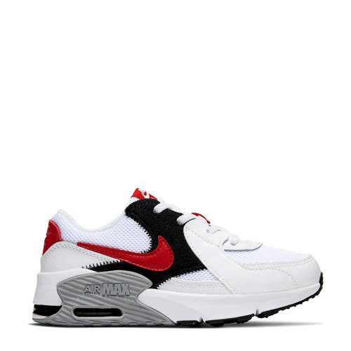 Nike Air Max Excee (PS) sneakers wit/rood/zwart