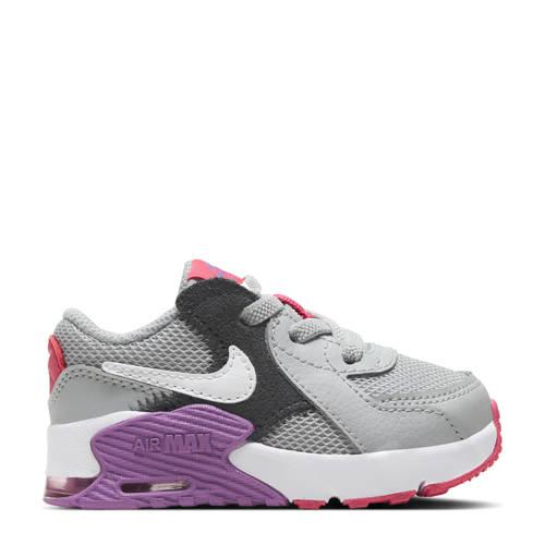 Nike Air Max Excee sneakers grijs/zwart/paars