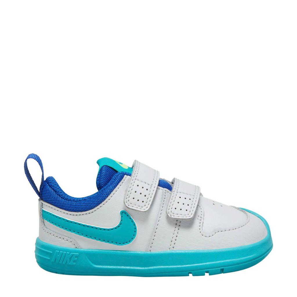 Nike Pico 5 (TDV)  sneakers wit/lichtblauw, Wit/lichtblauw