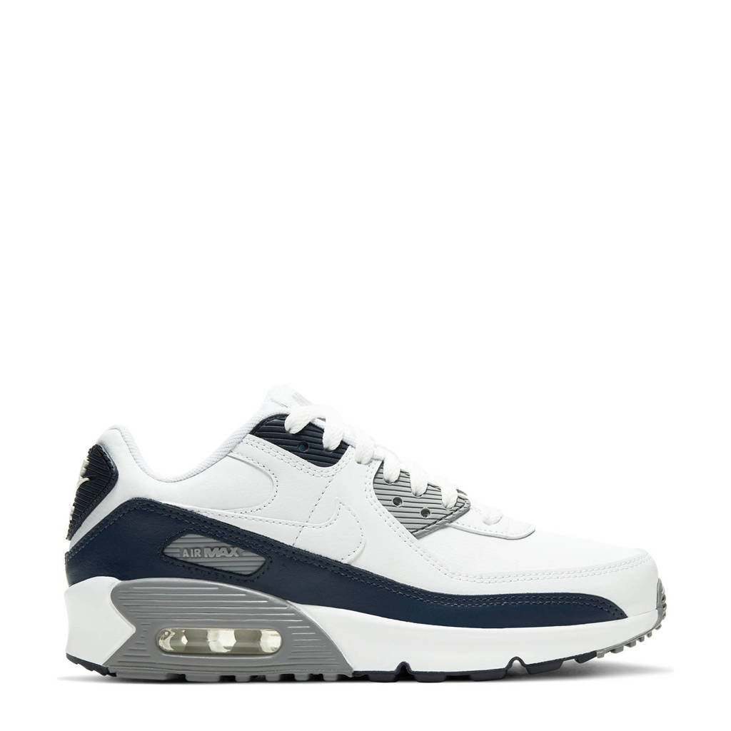 Nike Air Max 90 LTR (GS) sneakers wit/grijs, Wit/grijs