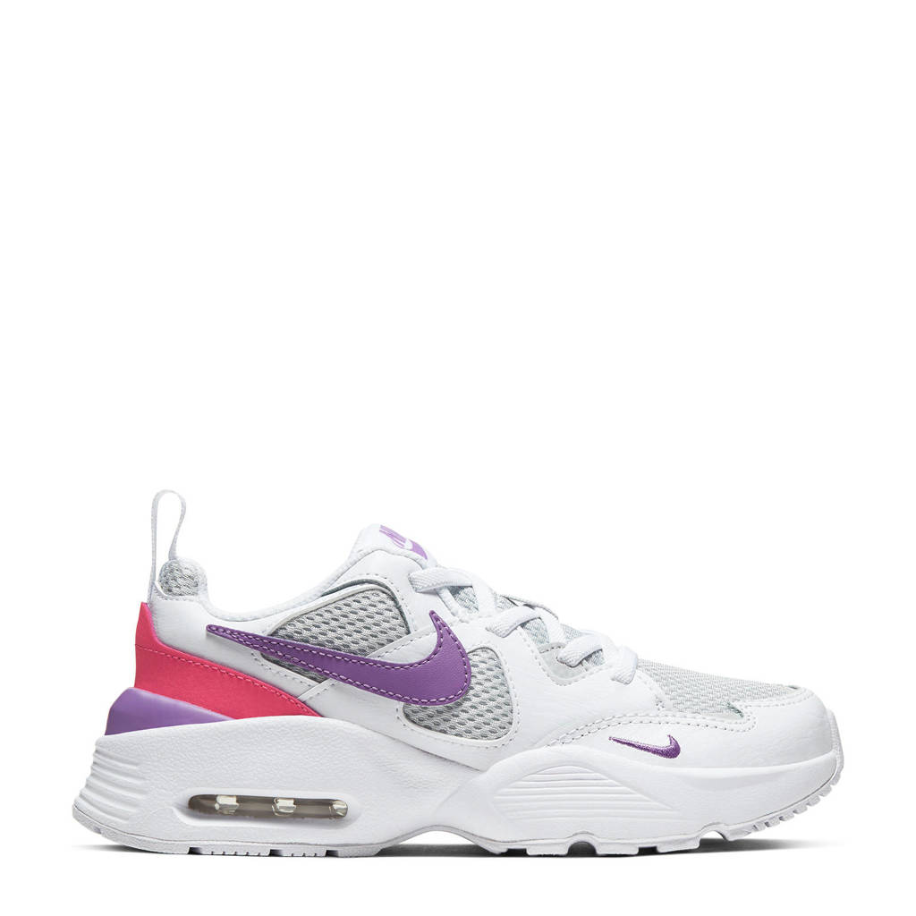 Nike Air Max Fusion  sneakers wit/grijs/lila, Wit/grijs/lila