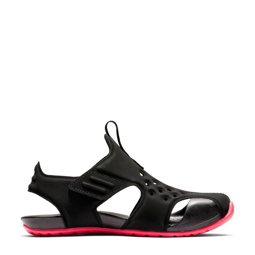 Nike   Sunray Protect waterschoenen zwart/fuchsia kids, Zwart/fuchsia