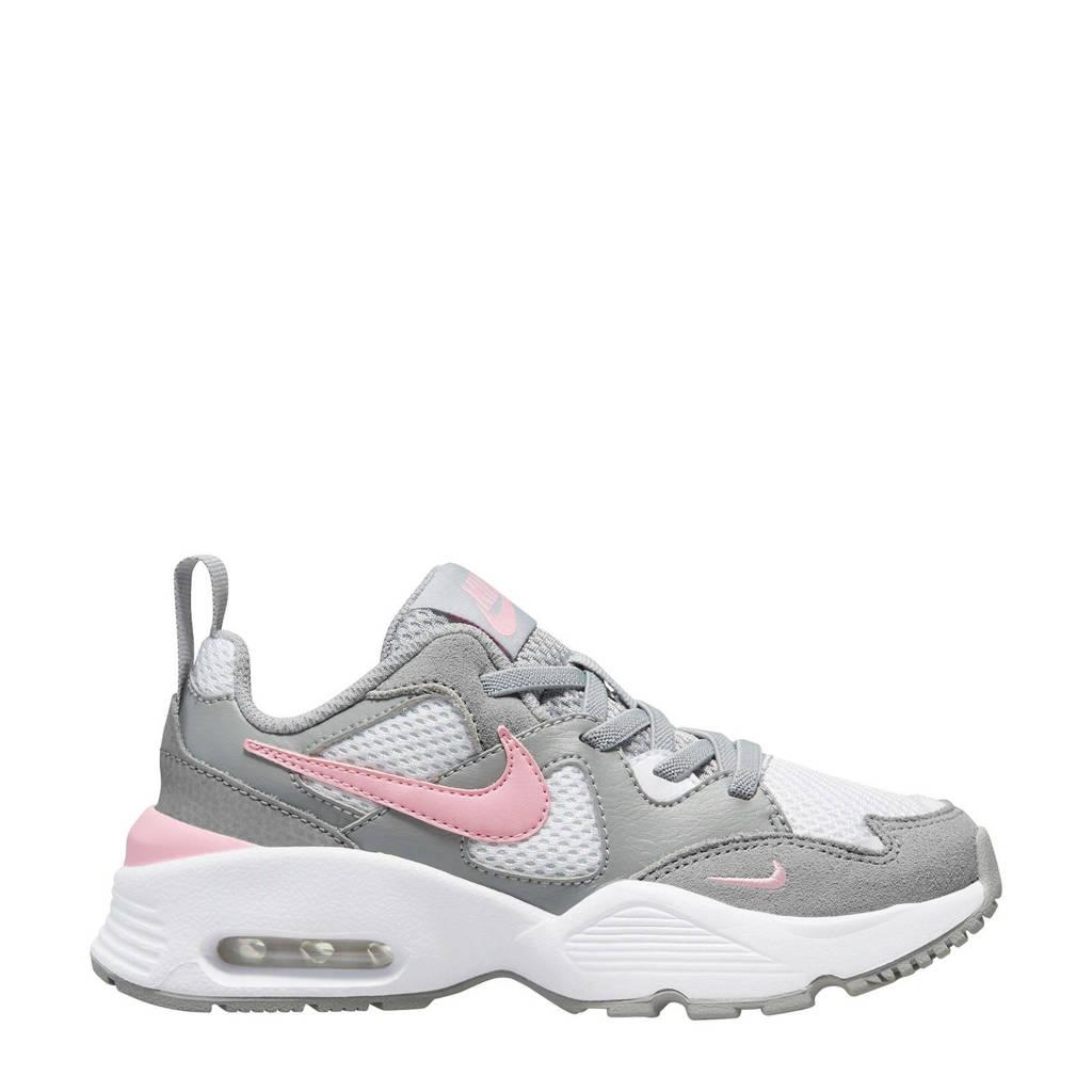 Nike Air Max Fusion  sneakers wit/grijs/roze, Wit/grijs/lichtroze