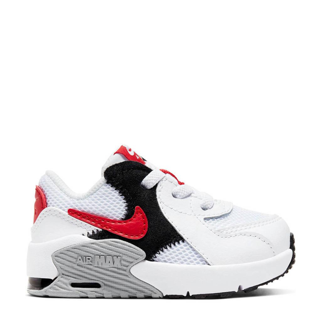 Nike Air Max Excee sneakers wit/rood/zwart, Wit/rood/zwart