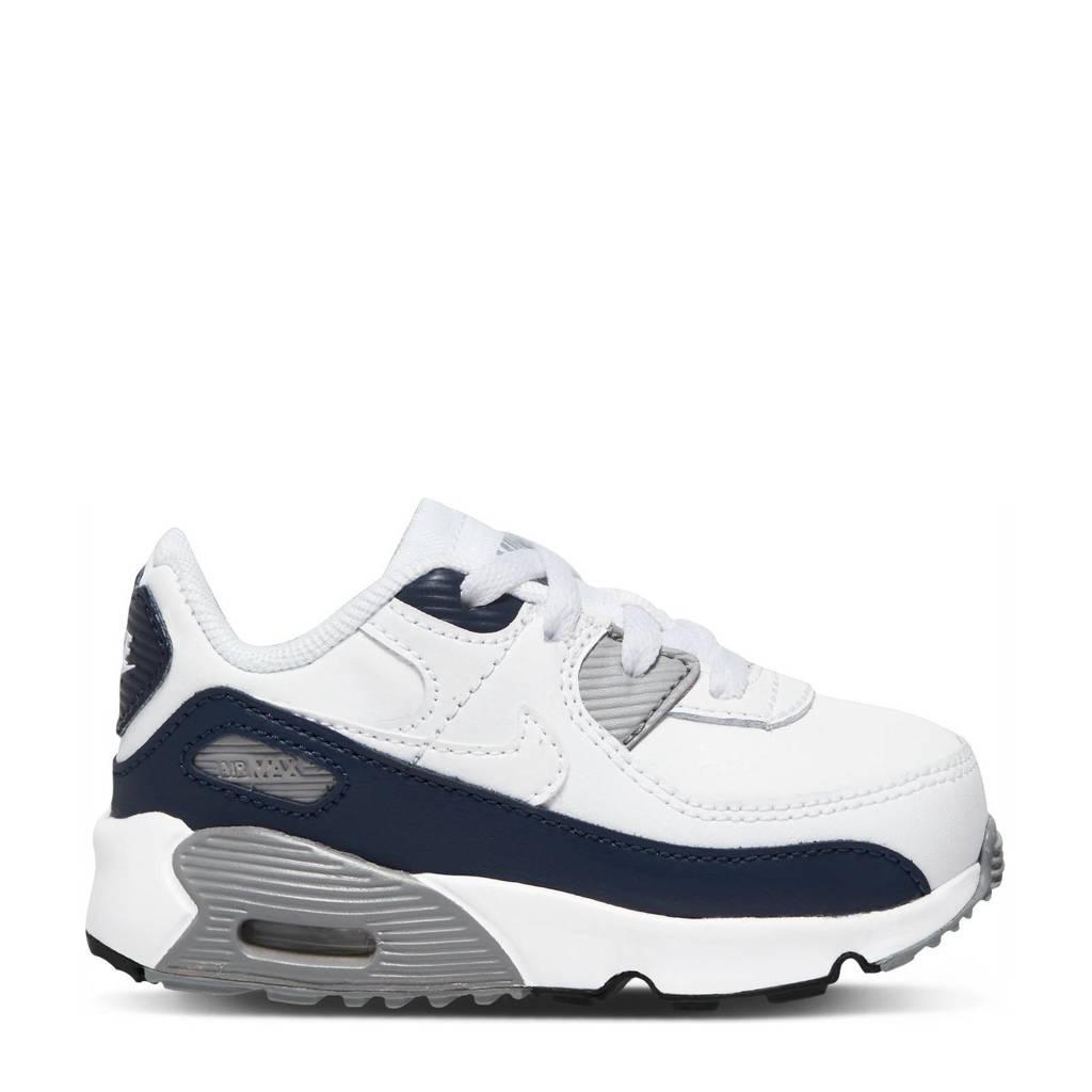 Nike Air Max 90  sneakers wit/zwart/grijs, Wit/zwart/grijs