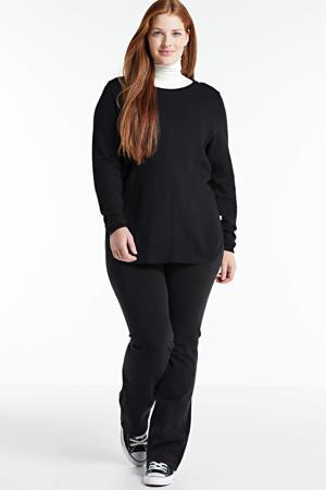 gebreide trui KOGLE 511 zwart