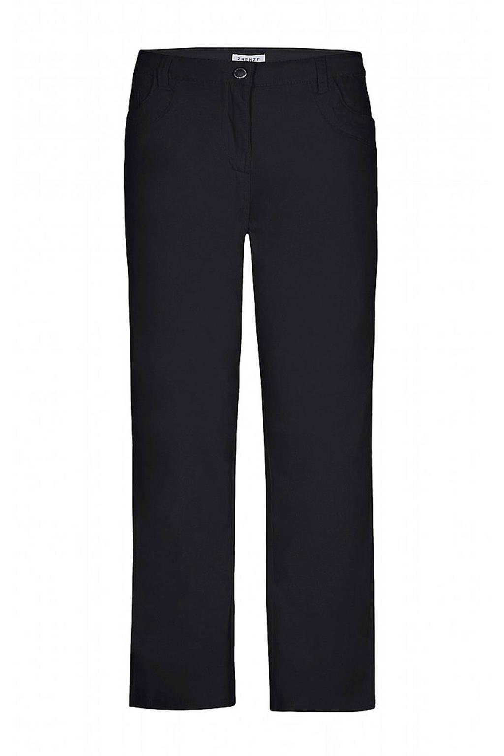 Zhenzi straight fit jeans STEP 82, Zwart