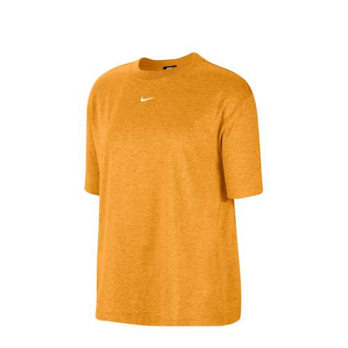 Nike T-shirt mosterdgeel