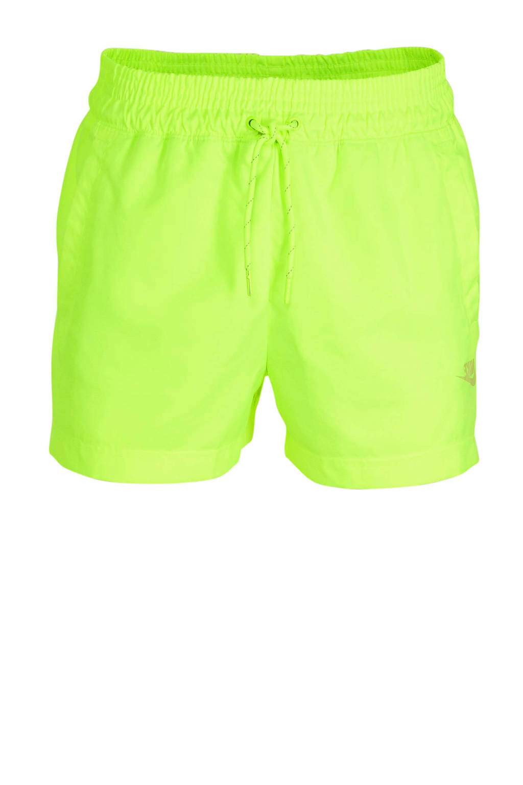 Nike short limegroen, Limegroen