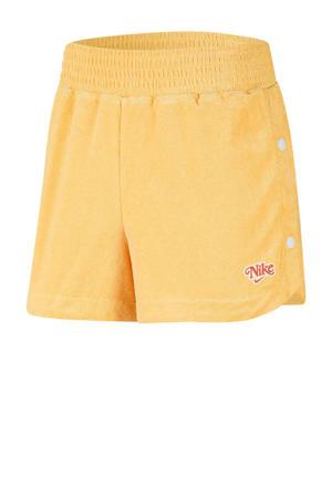 sweatshort geel