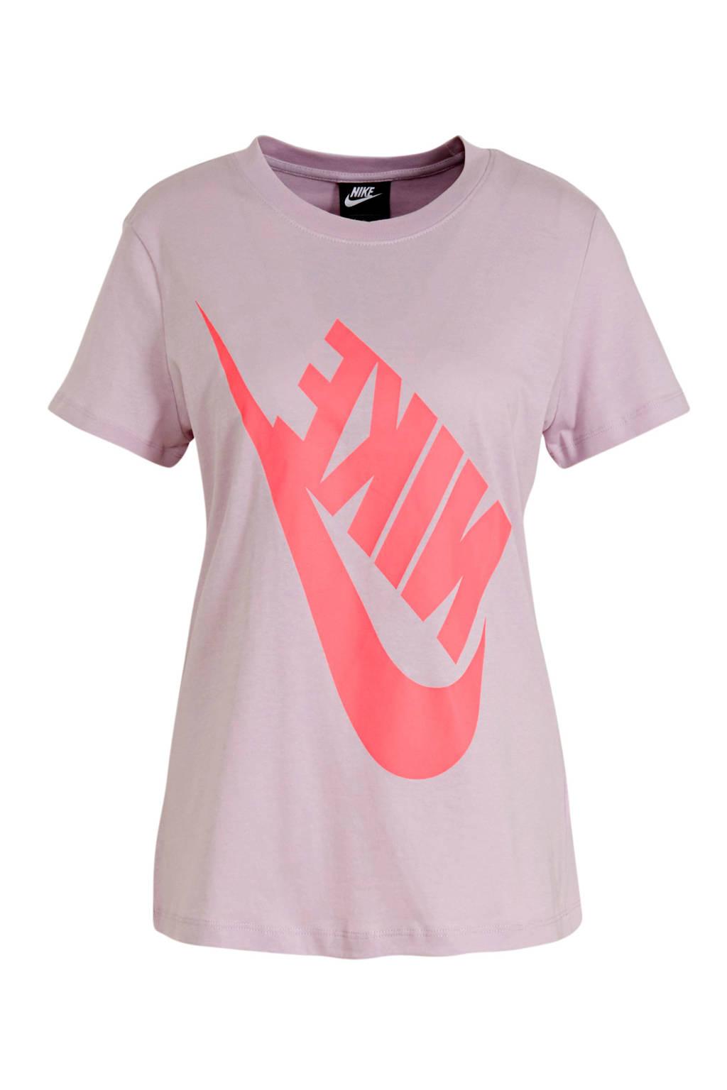 Nike T-shirt lila/roze, Lila/roze