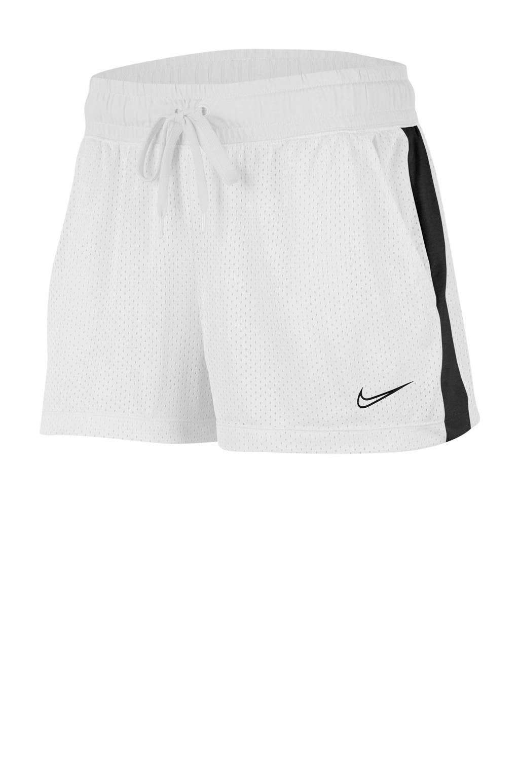 Nike short wit/zwart, Wit/zwart