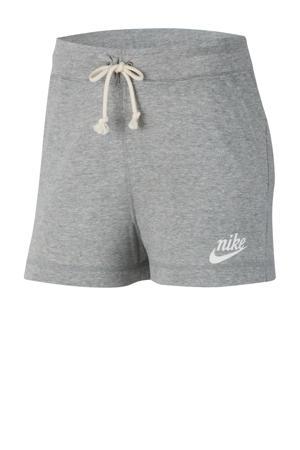 sweatshort grijs melange