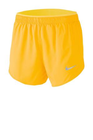 hardloopshort geel