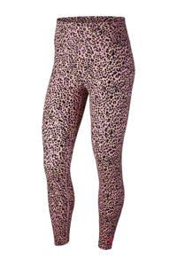 Nike legging panterprint roze, Roze