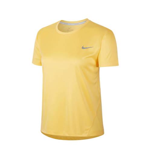 Nike hardloopshirt geel